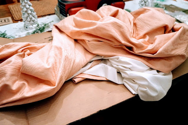 How to turn old drapes into pillows