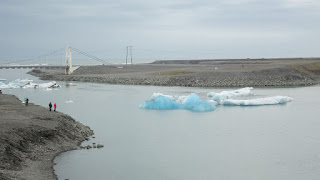 Ice along the Ring Road