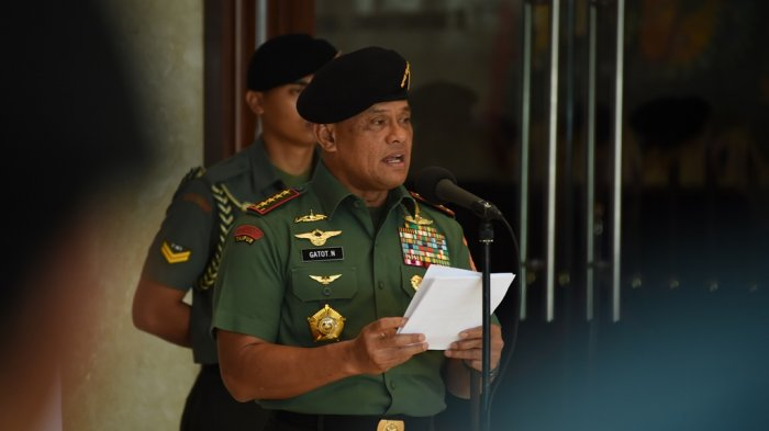 Panglima TNI baca puisi (ilustrasi)