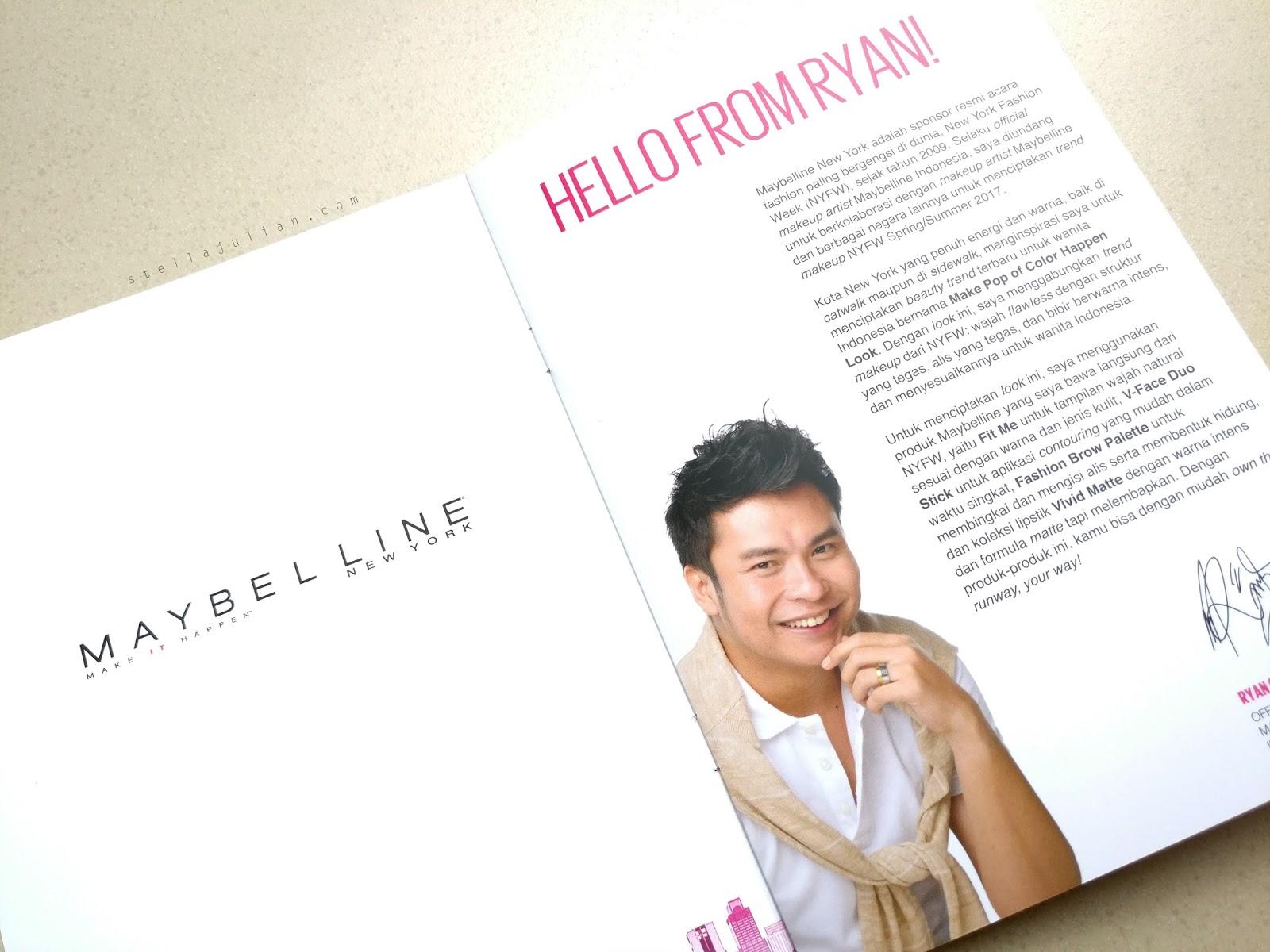 Review Maybelline Make Pop Of Color Happen Stella Julian