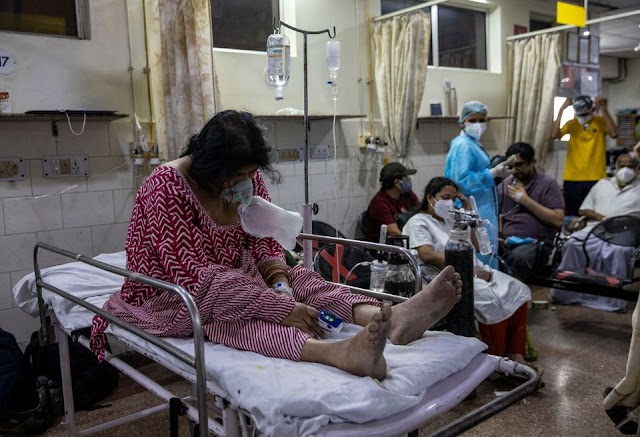 India's COVID-19 daily cases hold close to record, another state imposes lockdown  Newsajk.xyz