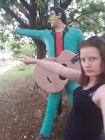 Davenport Roadside Attraction | Elvis