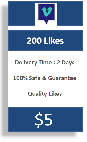 200 Vimeo Likes