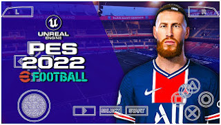 Download PES 2022 PPSSPP Textures V7.6 Camera PS4 Best Graphics & New Update Transfer