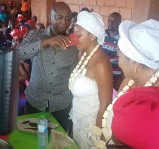 Regina Daniels initiated into married women group in Delta