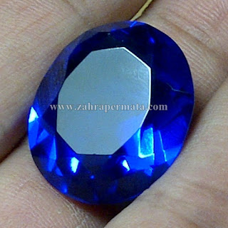 Batu Permata Natural Blue Obsidian - ZP 746