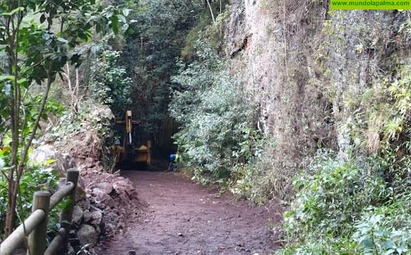 Medio Ambiente reabre el sendero de Marcos y Cordero tras rehabilitar una zona afectada por desprendimientos
