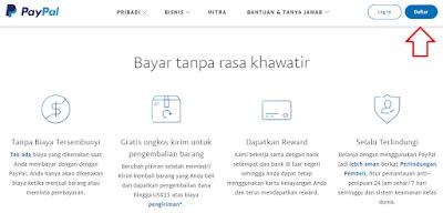 Daftar Paypal Terbaru