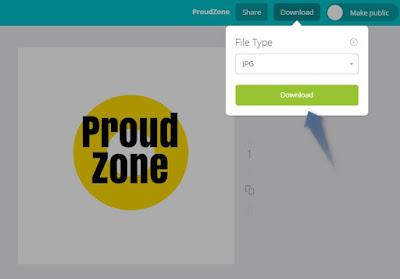 Create free logo step4