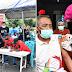 Serbuan Vaksinasi Korps Marinir TNI AL Disambut Antusias Warga Distrik Aimas