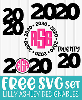 free 2020 svg files free graduation svg free new years svg