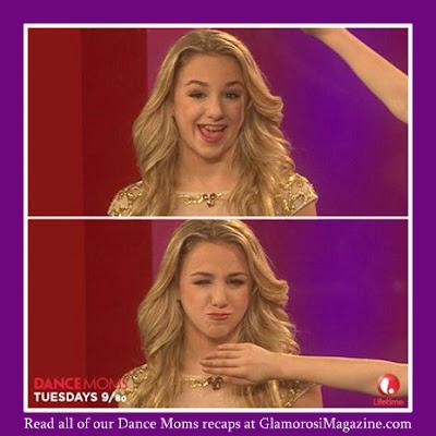 Chloe Lukasiak, star of Dance Moms on Lifetime TV