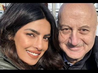 Priyanka Chopra Invites Anupam Kher To Jonas Brothers' Concert; The Latter Shares Video & Thanks Her