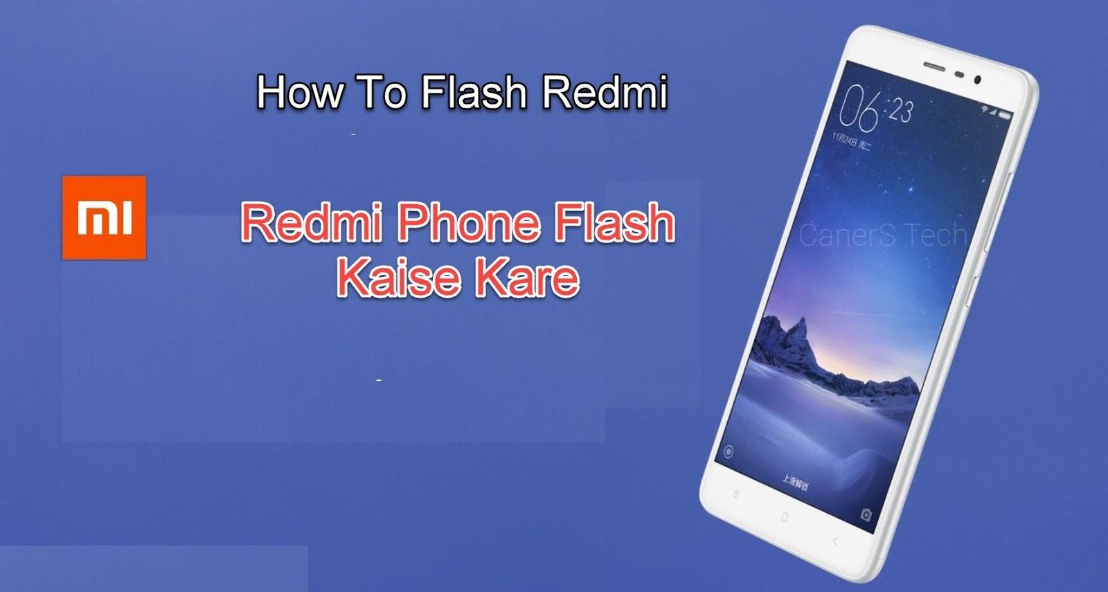 How-to-Flash-Xiomi-Phone