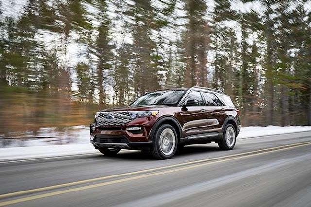 Ford Explorer 2020: más grande y con tracción trasera