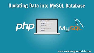 Updating Data into MYSQL Database
