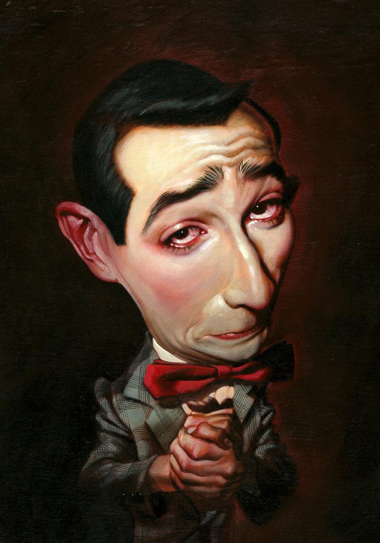 Pee-wee Herman por Thomas Fluharty