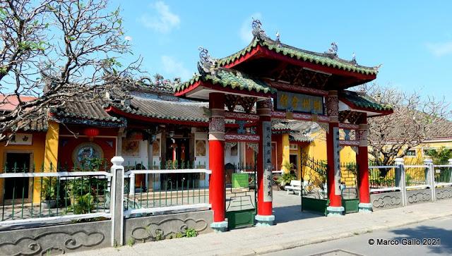 Templo Trieu Chau Assembly Hall. Hoi An, Vietnam