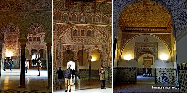 Palácio Mudéjar de Pedro I, no Real Alcázar de Sevilha