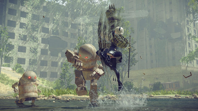 NieR Automata Day One Edition PC Free Download Screenshot 3