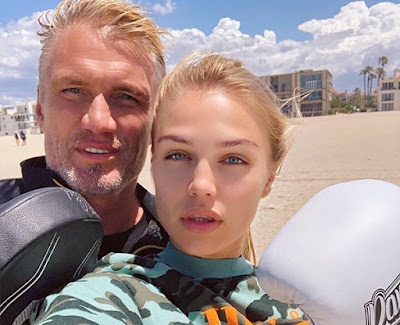 Ida Lundgren is Dolph Lundgren's daughter