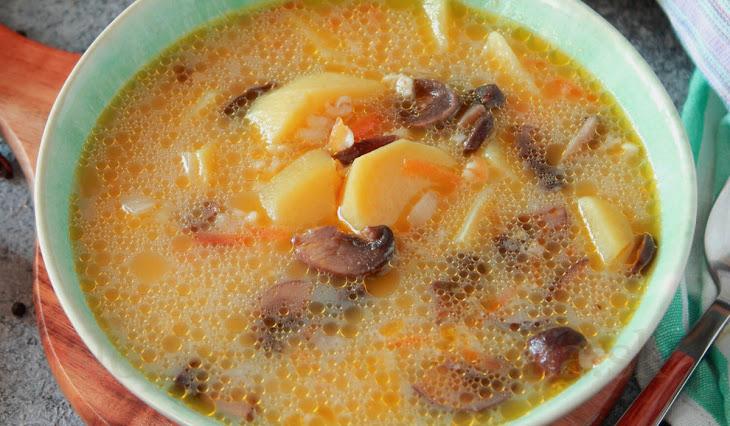 Smotánková polievka