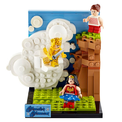 "DC FanDome Exclusive ""Wonder Woman vs. Cheetah"" LEGO Set"