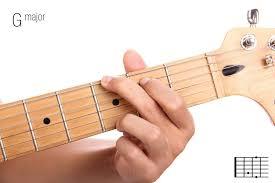 Belajar Chord dan kunci gitar dasar (G) mayor
