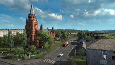 Download Euro Truck Simulator 2 Beyond the Baltic Sea Torrent PC