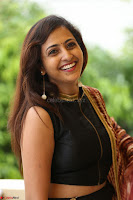Lasya looks super cute in black choli Saree at Raja Meru Keka Press Meet ~  Exclusive 012.JPG