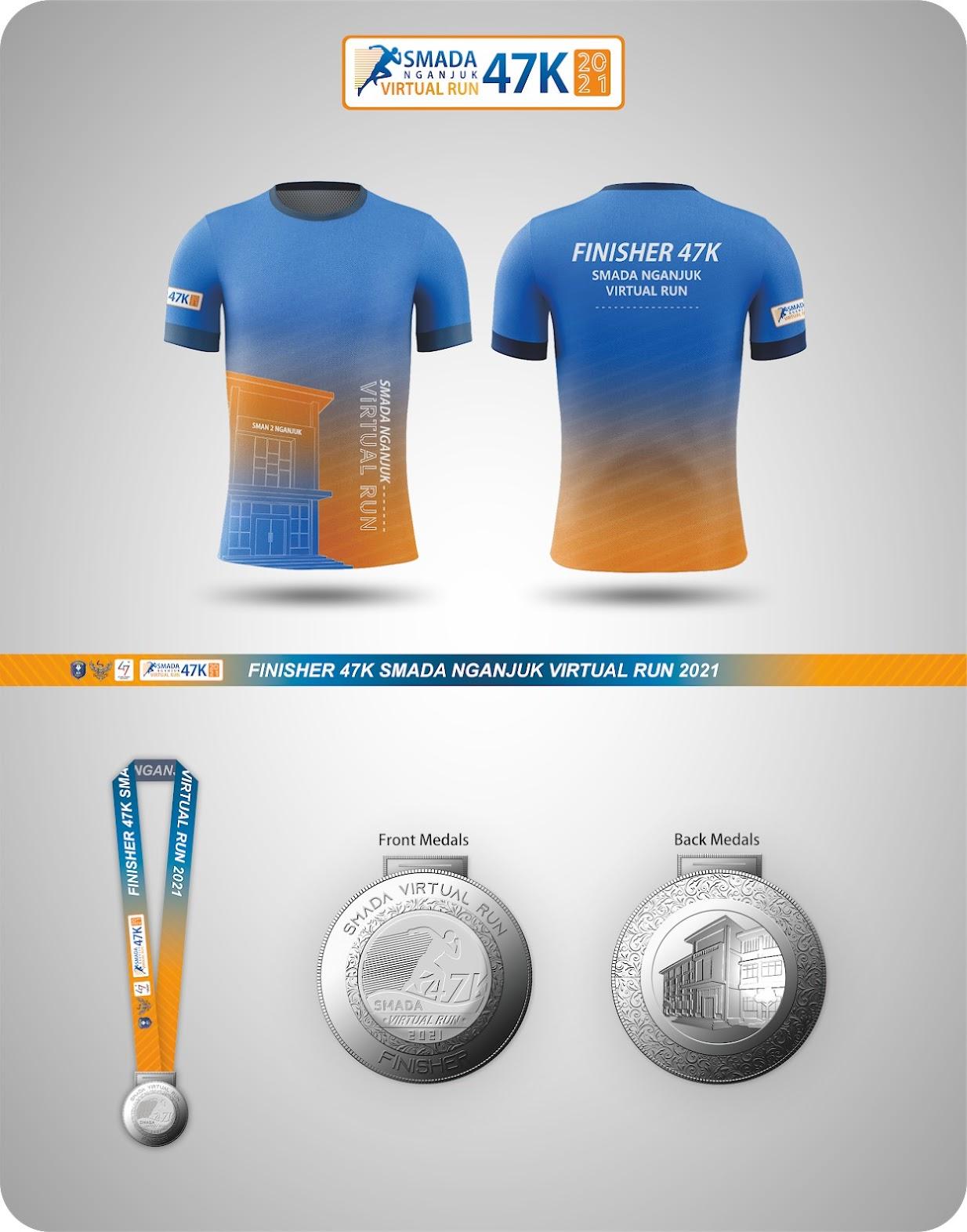 Racepack - SMADA Nganjuk Virtual Run • 2021