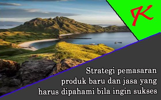 Strategi pemasaran produk baru dan jasa yang harus dipahami bila ingin sukses