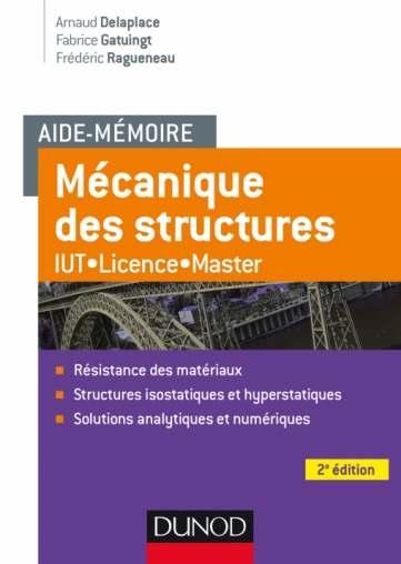 Aide-mémoire Mécanique des structures - 2e édition