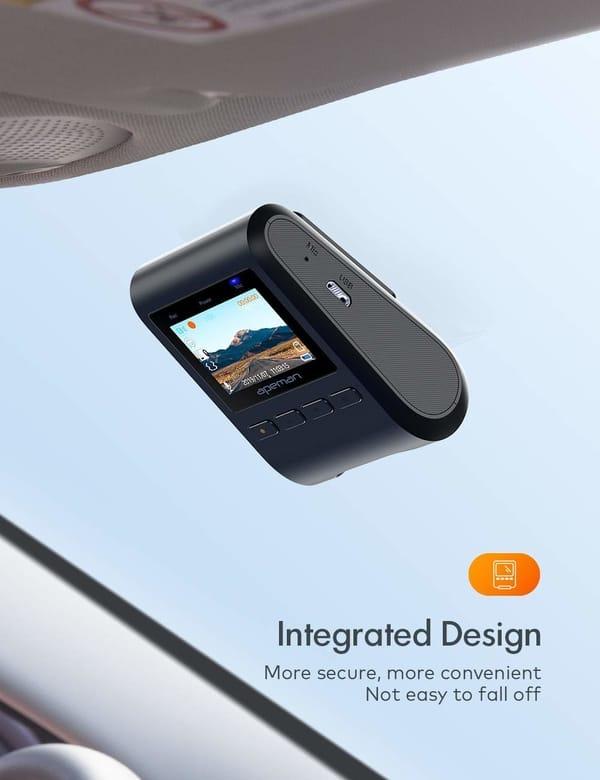 APEMAN C370 Mini Dash Cam Full HD Dash Camera for Cars
