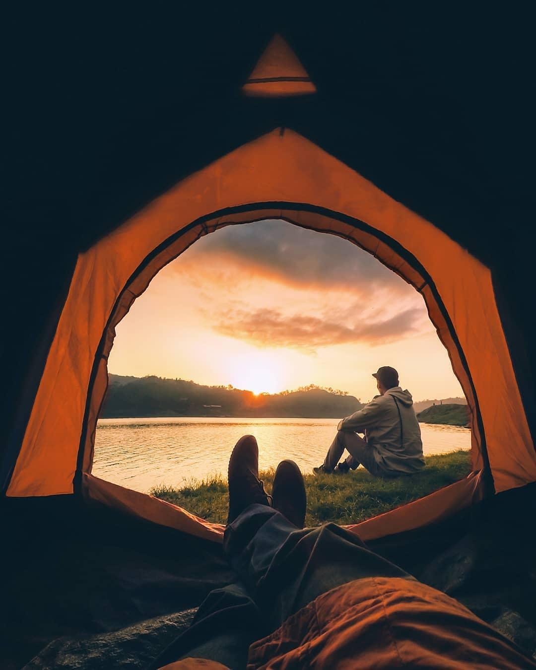Waduk Sermo Kulon Progo Tempat Camping Terbaru Di Jogja