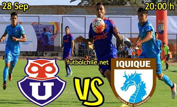 Universidad de Chile vs Deportes Iquique
