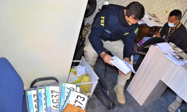 Operação 'Fake Rent' apura esquema criminoso com atuação dentro do Detran-BA