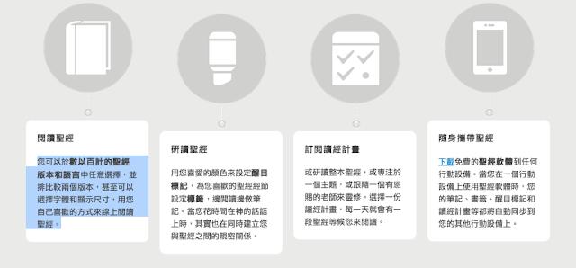 淡水教會英文讀經部落格: 實用英文聖經app-YouVersion