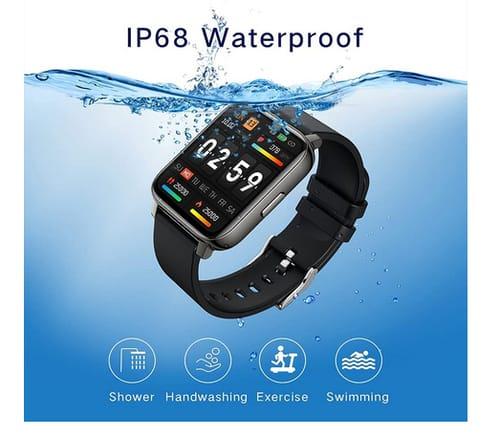 iporachx P36E Touch Screen Fitness Tracker Smart Watch