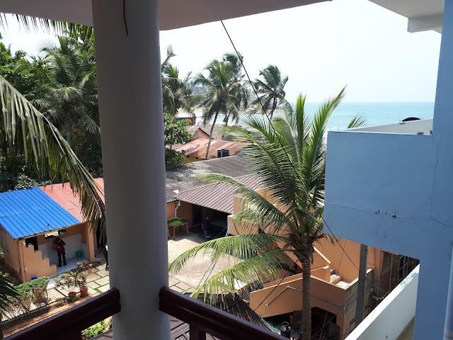 Vue depuis le balcon