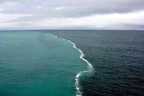The place can watch two oceans at the same time