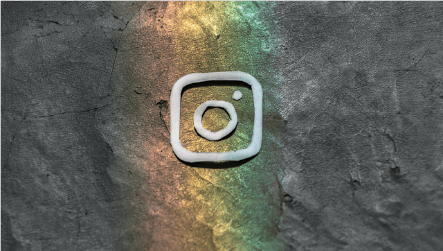 Logo instagram rainbow