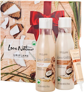 Coffret Love Nature Trigo e Coco