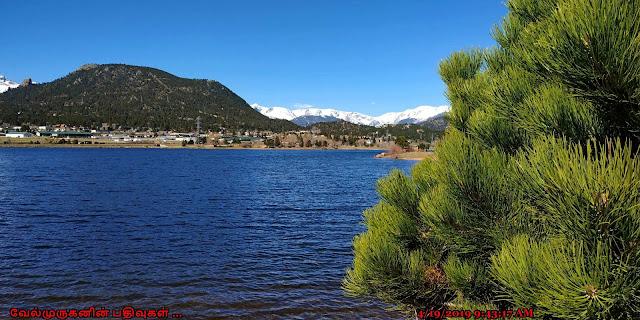 Lake Estes in Estes Park