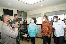 Forkopimda Sambut Kunjungan Mahyuddin Jelang Pilkada 2020 di Nusa Tenggara Barat