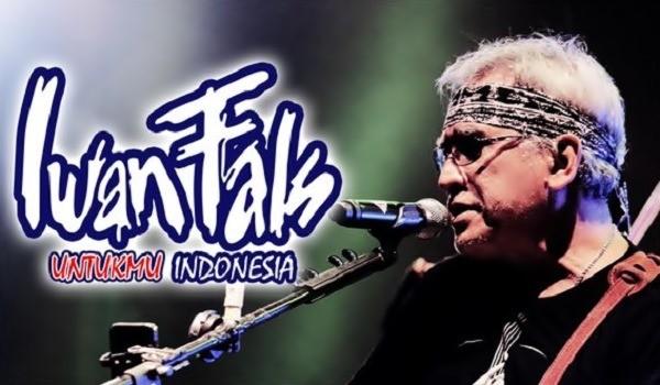 Jadwal Konser dan Manggung Iwan Fals ter baru 2016