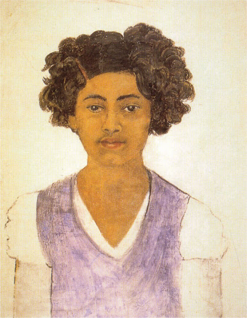 Фрида Кало - Автопортрет. 1922