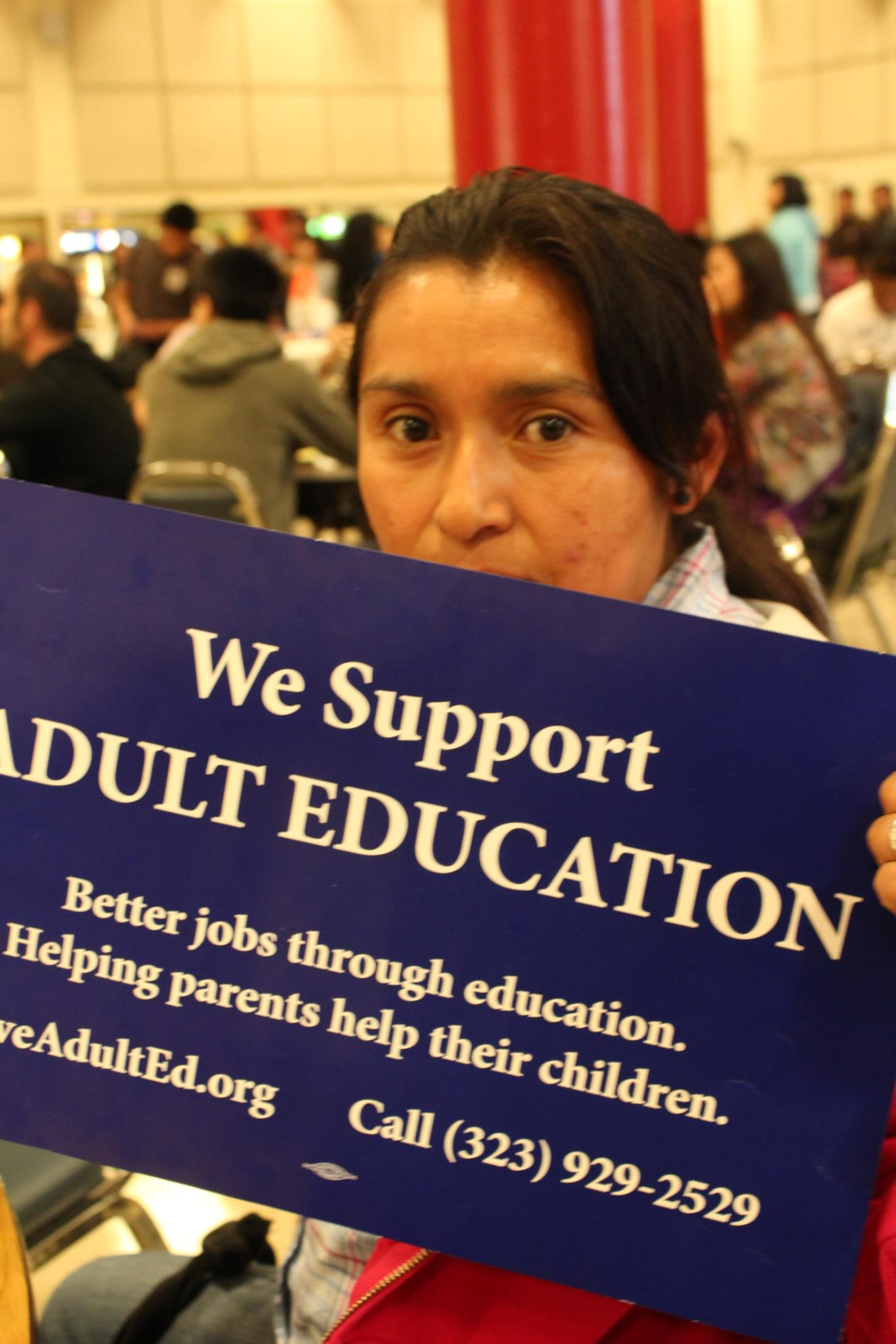 Join the struggle to save LAUSD's adult education programs