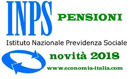 Calendario Pagamento Pensioni Inps.Comunicati Stampa Accredito Pensione Calendario Mensile 2018