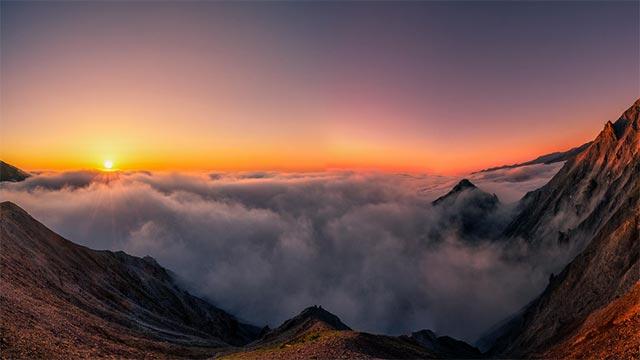 Türkiye'nin en yüksek 4. dağı olan Kaçkarlar, sonbaharda gezilmesi gereken yerlerden